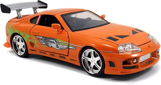JADA Brian/'s Toyota Supra White Fast And Furious 1//32 Scale Die Cast New