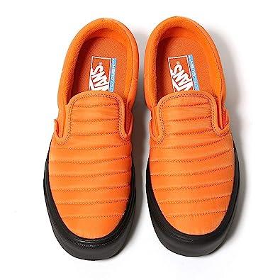 682ece33ca56c6 Vans Slip ON LITE Quilted Russet Orange Black Shoes (8 Women US - 6.5 Men