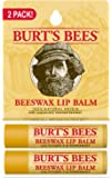 Burt's Bees - Beeswax Lip Balm Unflavored - 2 Pack(s)
