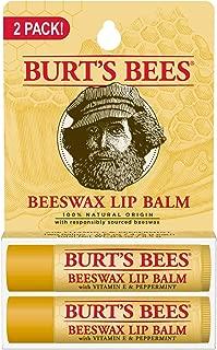 product image for Burt's Bees 100% Natural Origin Moisturizing Lip Balm, Original Beeswax, 2 Tubes in Blister Box