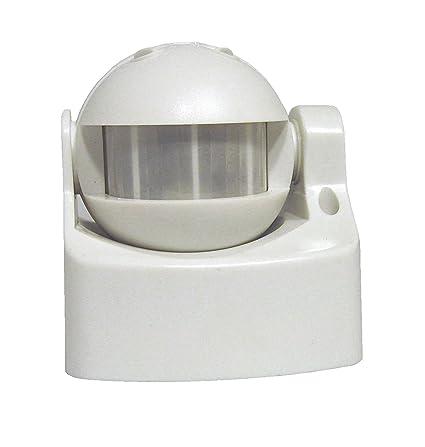 Chacon CAFR997655 Sensor de la fotocélula Alámbrico Techo/Pared Blanco Detector de Movimiento - Sensor