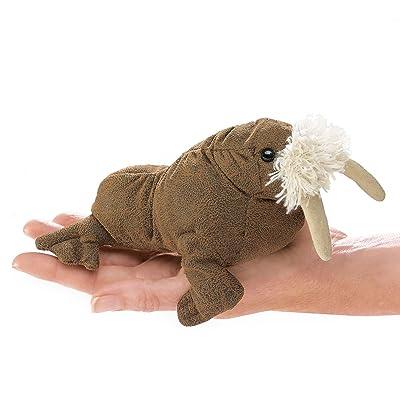 Folkmanis Mini Walrus Finger Puppet: Toys & Games