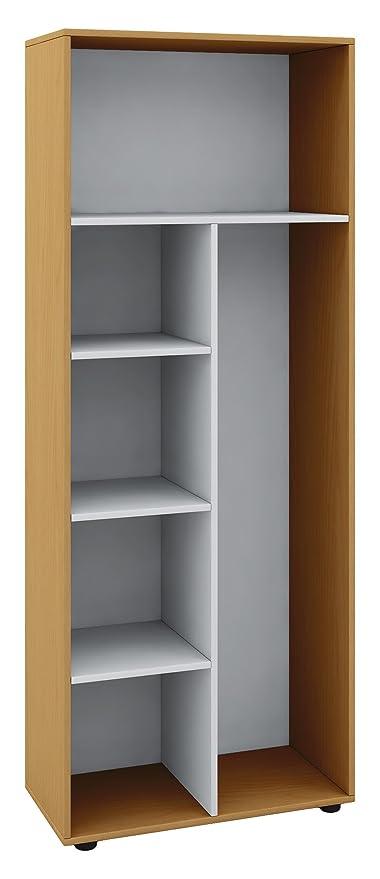Besenschrank Holz.Vcm Schrank Universal Staubsauger Besenschrank Mehrzweckschrank Putzschrank Holz Buche 178 X 70 X 40 Cm Vandol