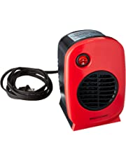 Brightown 750W/1500W ETL Listed Quiet Ceramic Space Heater with Adjustable Thermostat