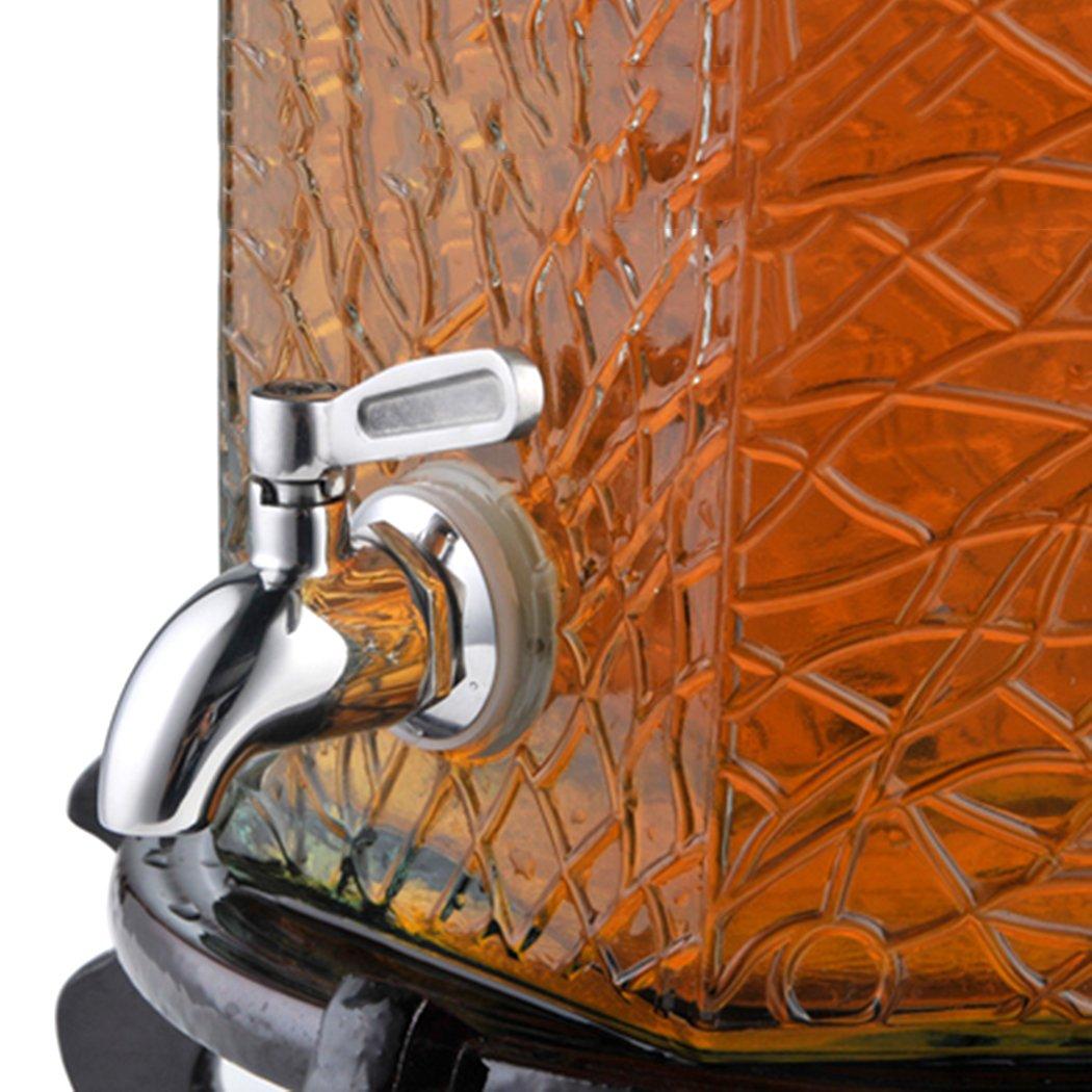 EgoEra® SUS304 Acero Inoxidable Metal Grifo Dispensador de Bebidas, Grifo de Cerveza para Casa Barril Agua Jugo Leche Café (16mm): Amazon.es: Bricolaje y ...