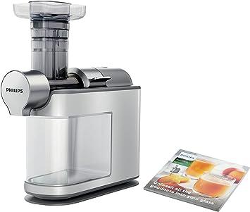 Philips HR194580 Slow Juicer (200 W, Entsafter für kaltes