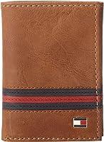 Tommy Hilfiger Men's Leather  Yale Trifold Wallet