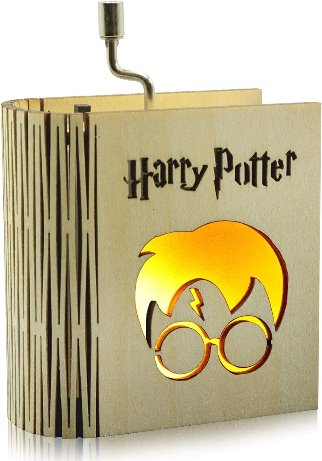 CraftsToCollect Harry Potter - Caja de Música con luz: Amazon.es ...
