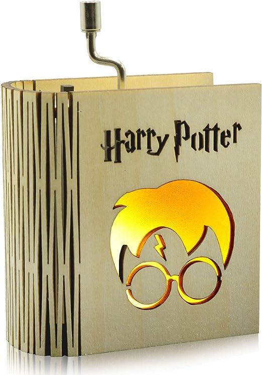 CraftsToCollect Harry Potter - Caja de Música con luz: Amazon.es ...