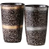 タンブラー : 有田焼 ペア陶酒杯 輪華 Japanese Pair Cup Porcelain/Size(cm) Φ7.9x12.2/No:664314