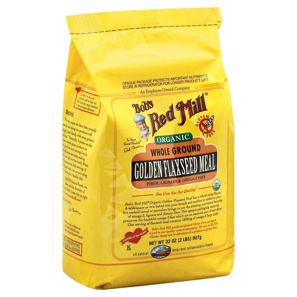 Bobs Red Mill Flaxseed Organic 32.0 OZ(Pack of 6)