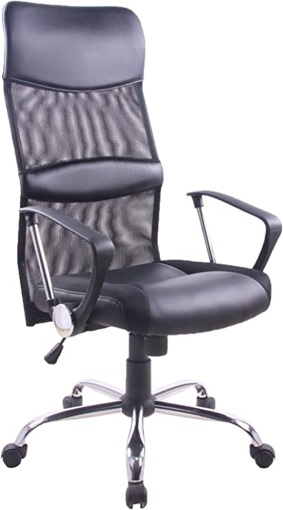 Yale Silla giratoria para estudio despacho o escritorio con ruedas ...