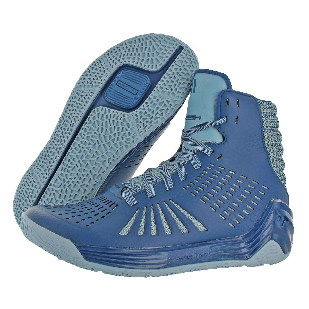 44e5d9a79a9e Tesh Trigger Men Black Basketball Shoe