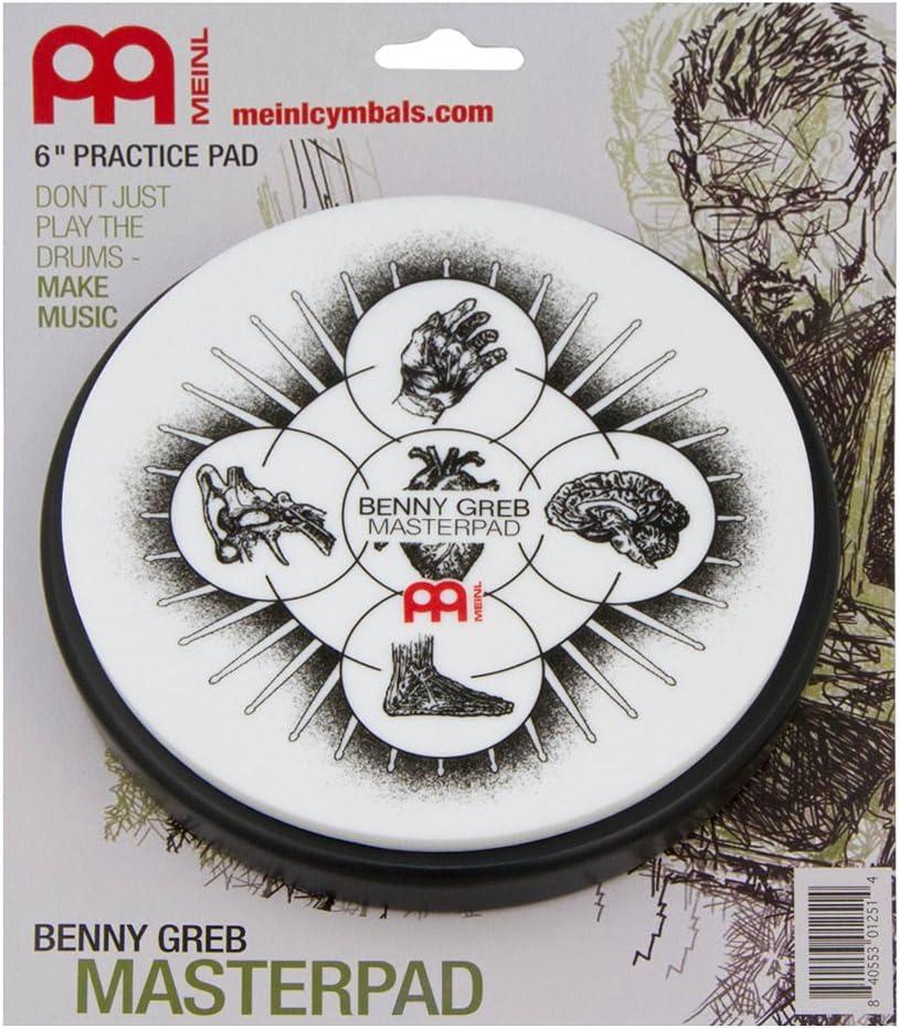 "MEINL Cymbals Practice Pad 6/"" Benny Greb Signature MPP-6-BG"