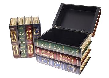 Secret Storage Box - 2-Piece X 4-Books Set Design A  sc 1 st  Amazon.com & Amazon.com: Secret Storage Box - 2-Piece X 4-Books Set Design A ...