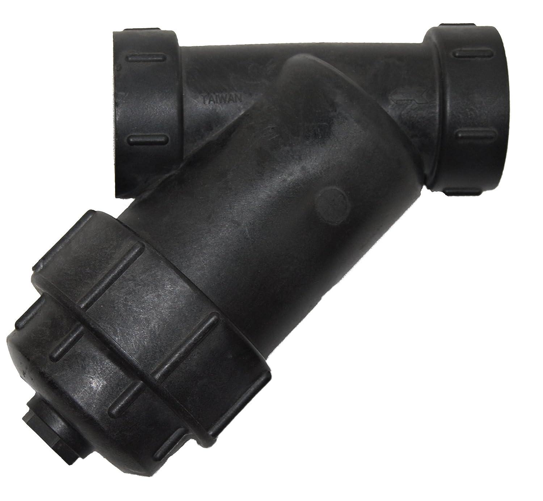 PT Coupling Petroleum Handling Series Polypropylene Y-Strainer 1-1//2 1-1//2