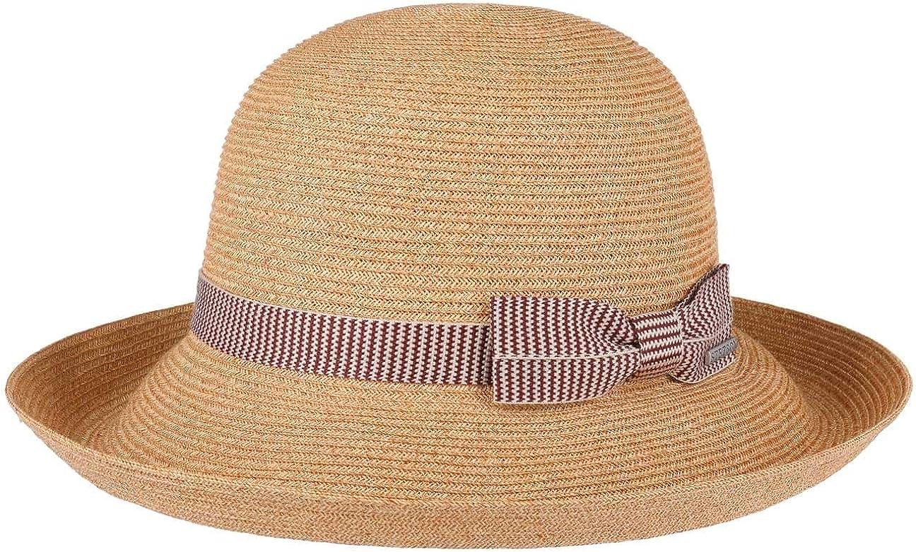 Stetson Sombrero de ala Ancha Mandita Mujer - Verano Sol algodón Primavera/Verano