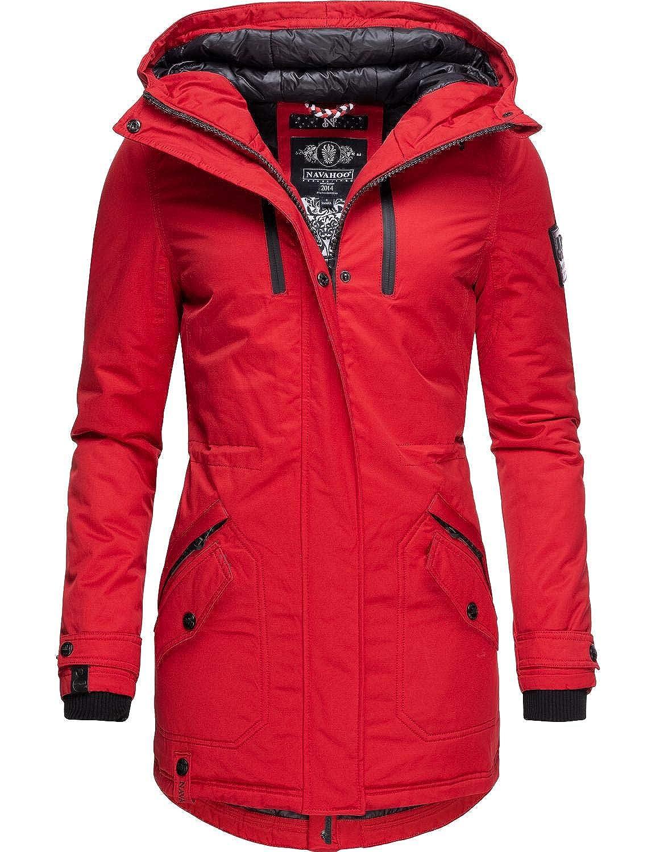 Navahoo Damen Winterparka Wintermantel Avrille II 8 Farben XS-XXL