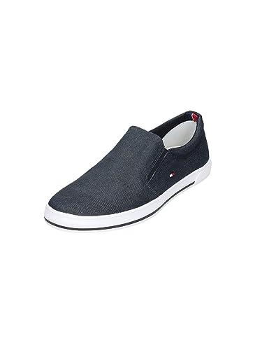 704f00c15690 Tommy Hilfiger Harry 2e, Herren Niedrige Sneaker , blau - blau - Größe  44