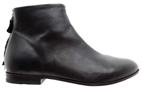 In Botines Nero Piel 76801 Zapatos Fox Mujer Moma 3a Vintage Made 34R5AjLq