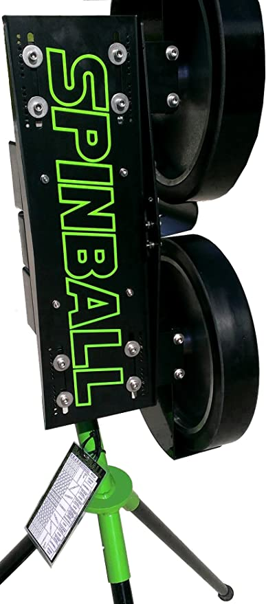 Spinball Wizard 2 Wheel Softball Pitching Machine