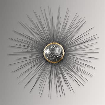 ADM Sun Metal wall decoration, wall sculpture, made entirely by