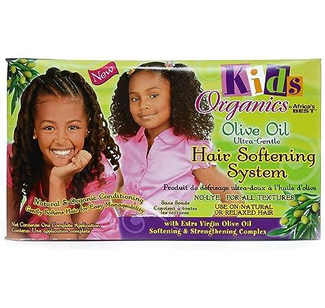 Best Kids Organic Hair Softening System