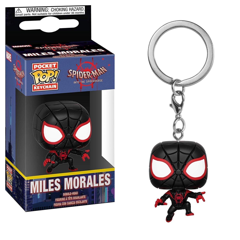 Funko 34756 Pocket POP Keychain: Marvel: Spider-Man Animated: Spider-Man Miles