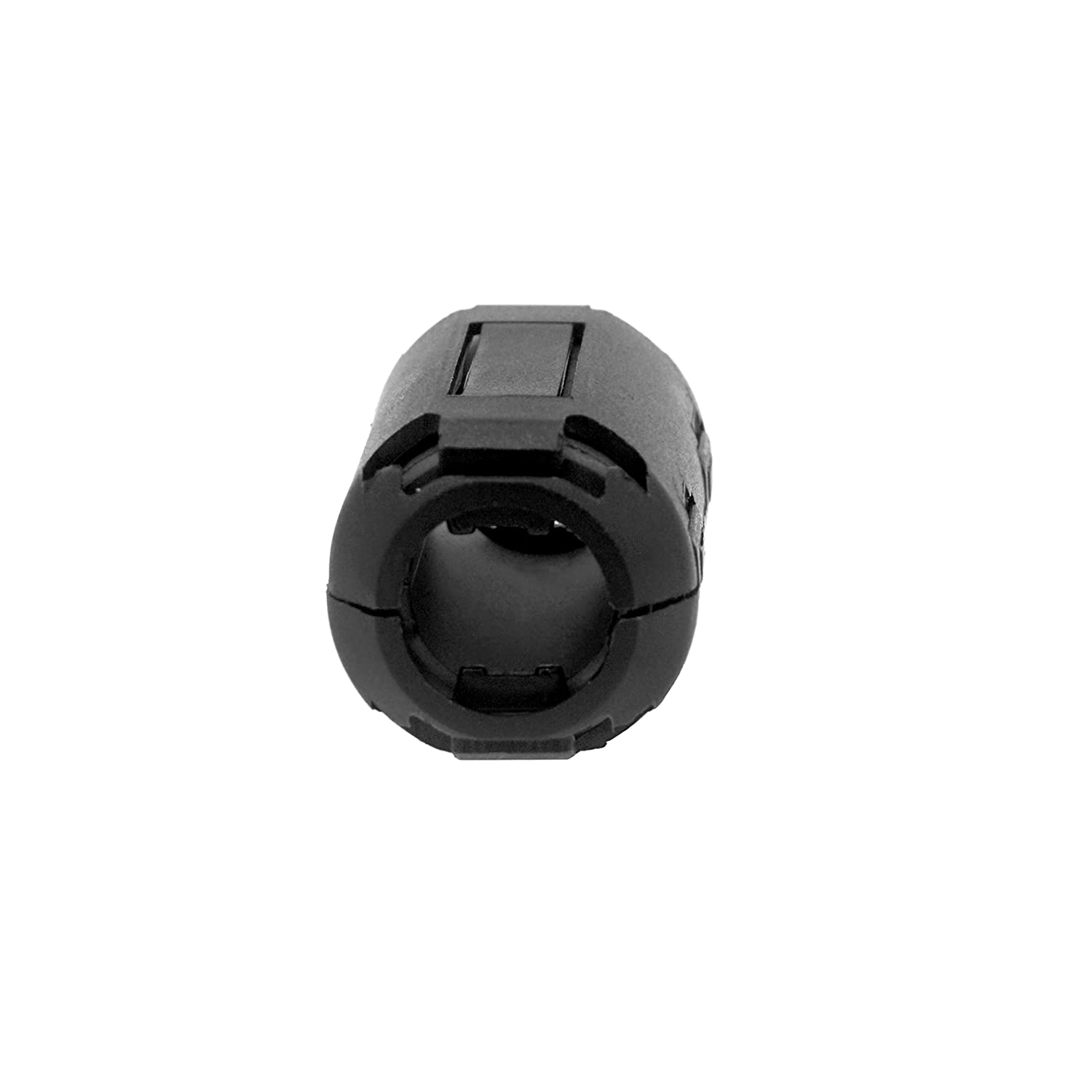 3.5mm// 5mm// 7mm// 9mm// 13mm Diameter 30PCS Clip-on Ferrite Core Ring Bead Anti-Interference High-Frequency Filter RFI EMI Noise Suppressor Cable Clip for USB//Audio//Video Cable Power Cord