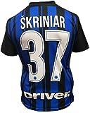 Maglia Inter Milan Skriniar 37 Replica Autorizzata Bambino Adulto 2017-2018
