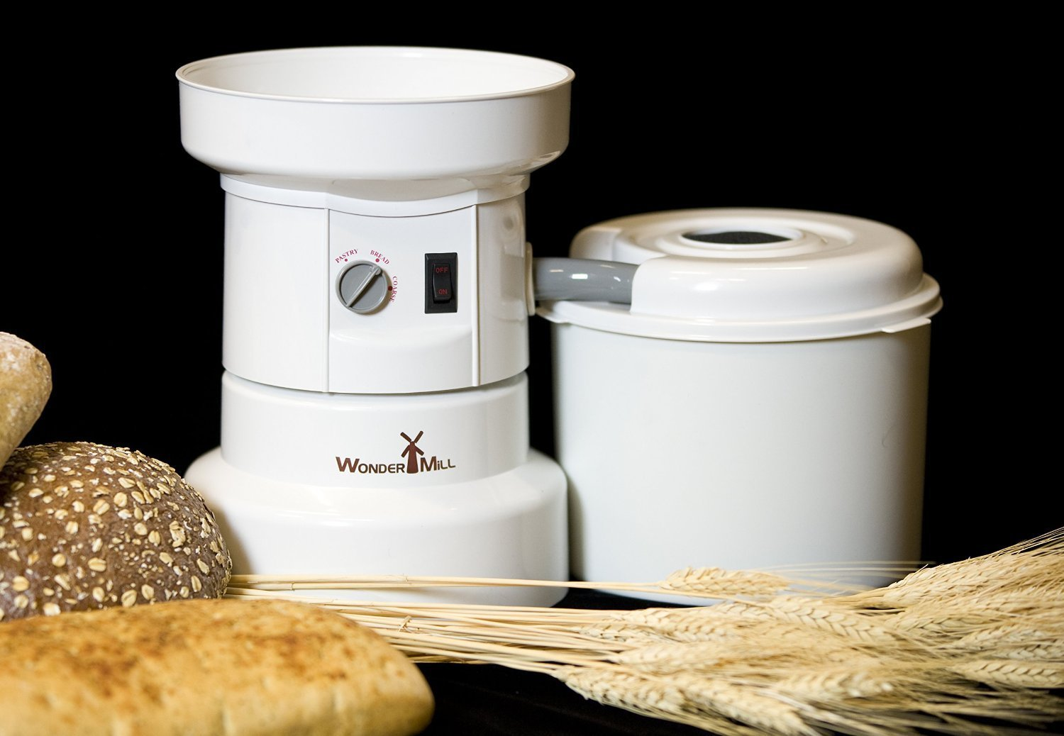 WonderMill Electric Grain Grinder - Grain Mill (110 V) by Wondermill (Image #2)