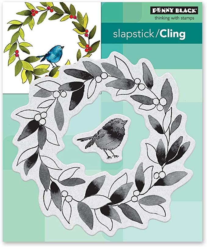 penny black 40-637 Cling Stamp Gray