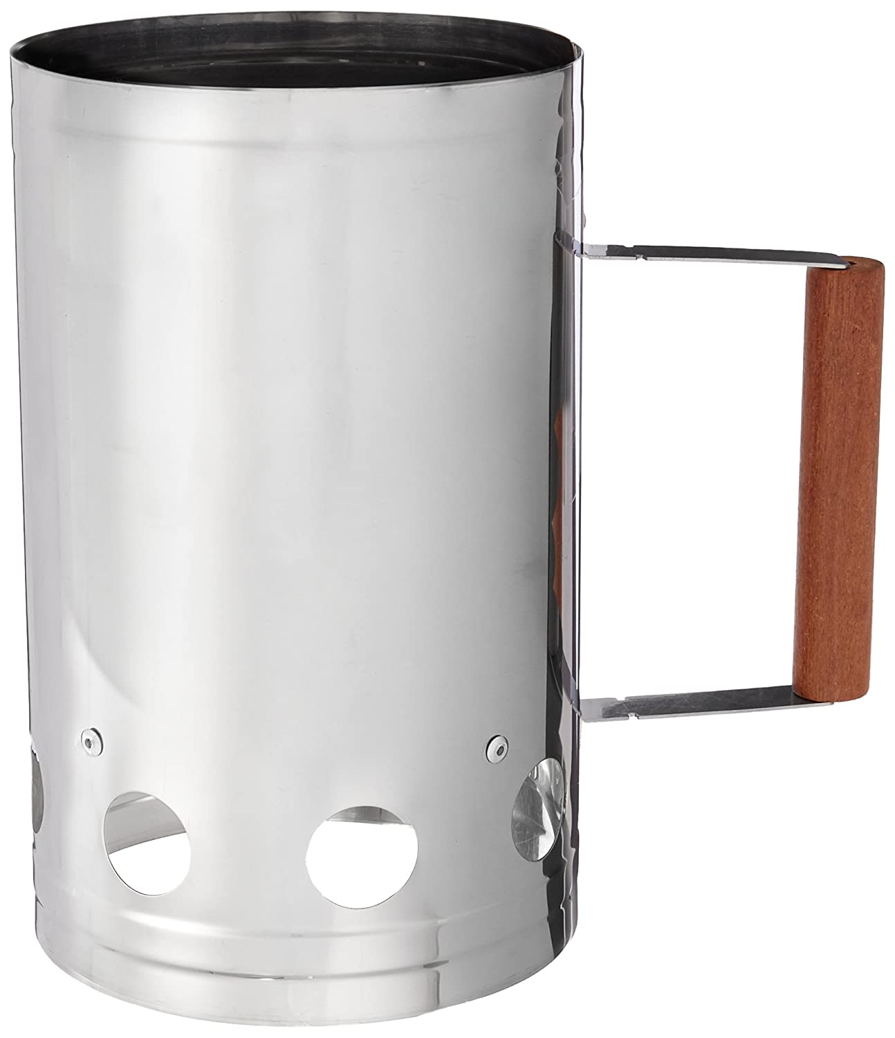 Charcoal Companion Stainless Steel Chimney Charcoal Starter CC3026