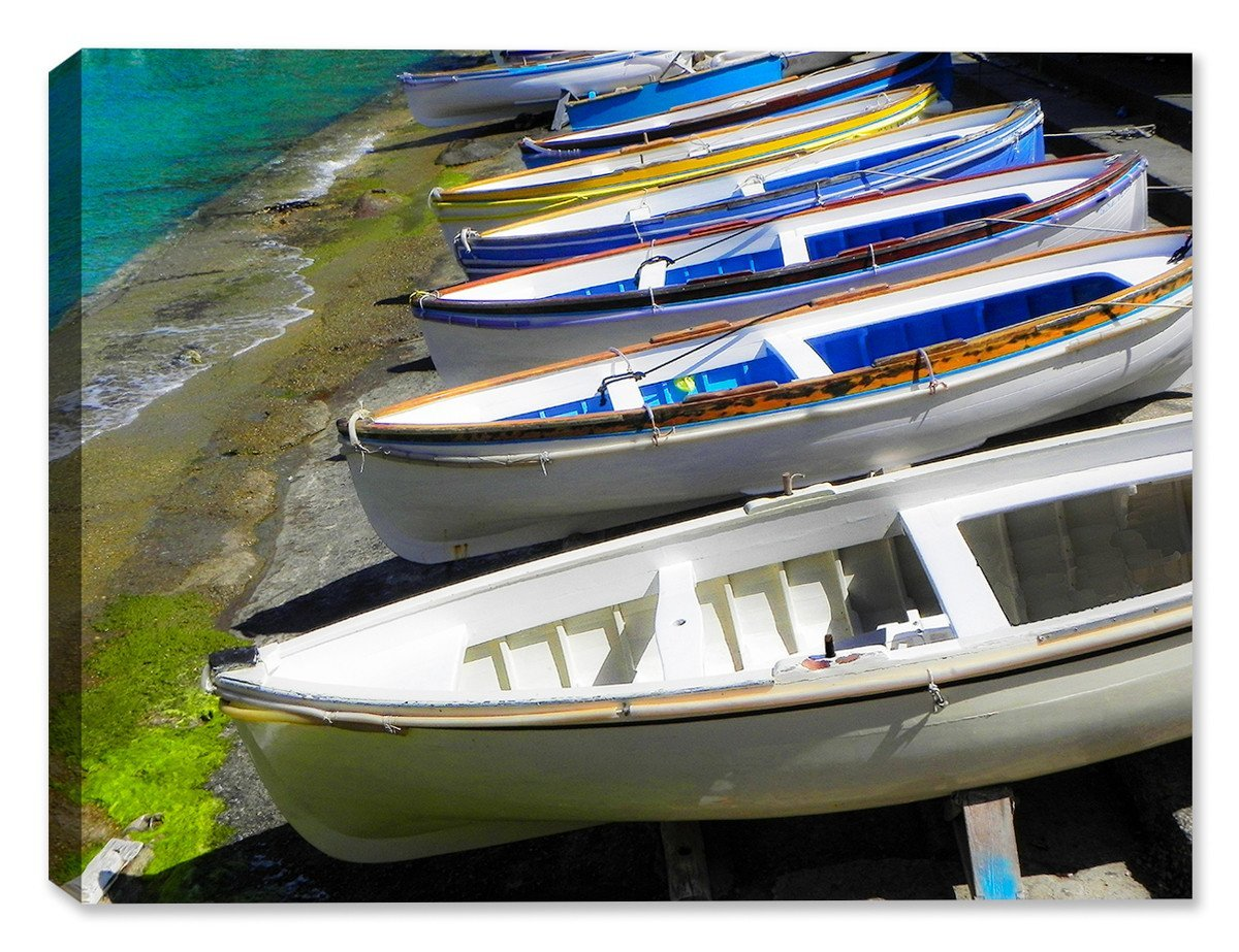 Capri Boats - Indoor/Outdoor Art - Weatherprint Patio Art