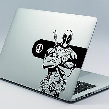 Deadpool apple macbook decal sticker 15