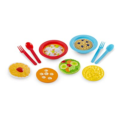 Melissa & Doug Create-A-Meal Fill Em Up Bowls (12 pcs) - Play Food and Kitchen Accessories: Toys & Games