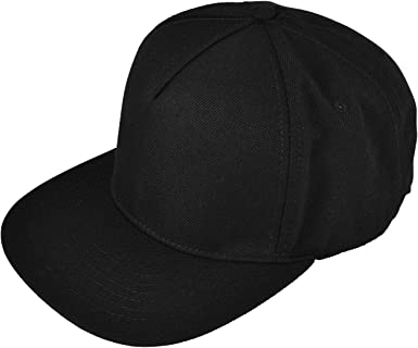 Black 5 panel Black snapback hat with gray brim Cotton 5 panel hat Gray brim baseball cap Snap back cap