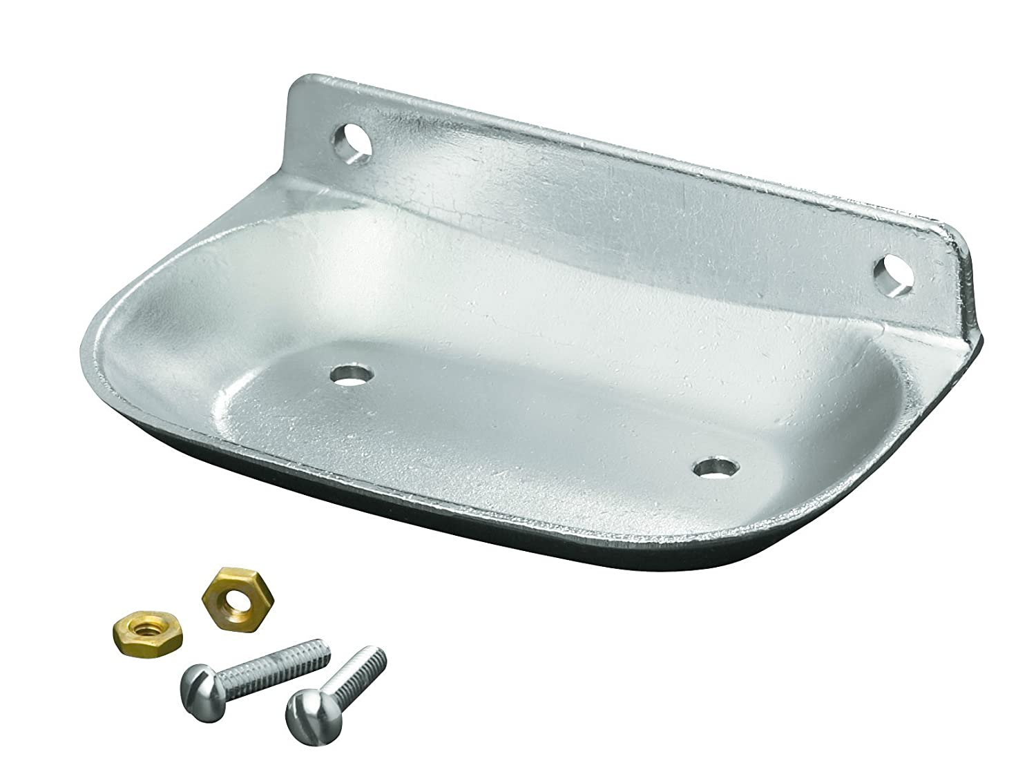 amazoncom kohler k8880bc brockway soap dish bright chrome home improvement