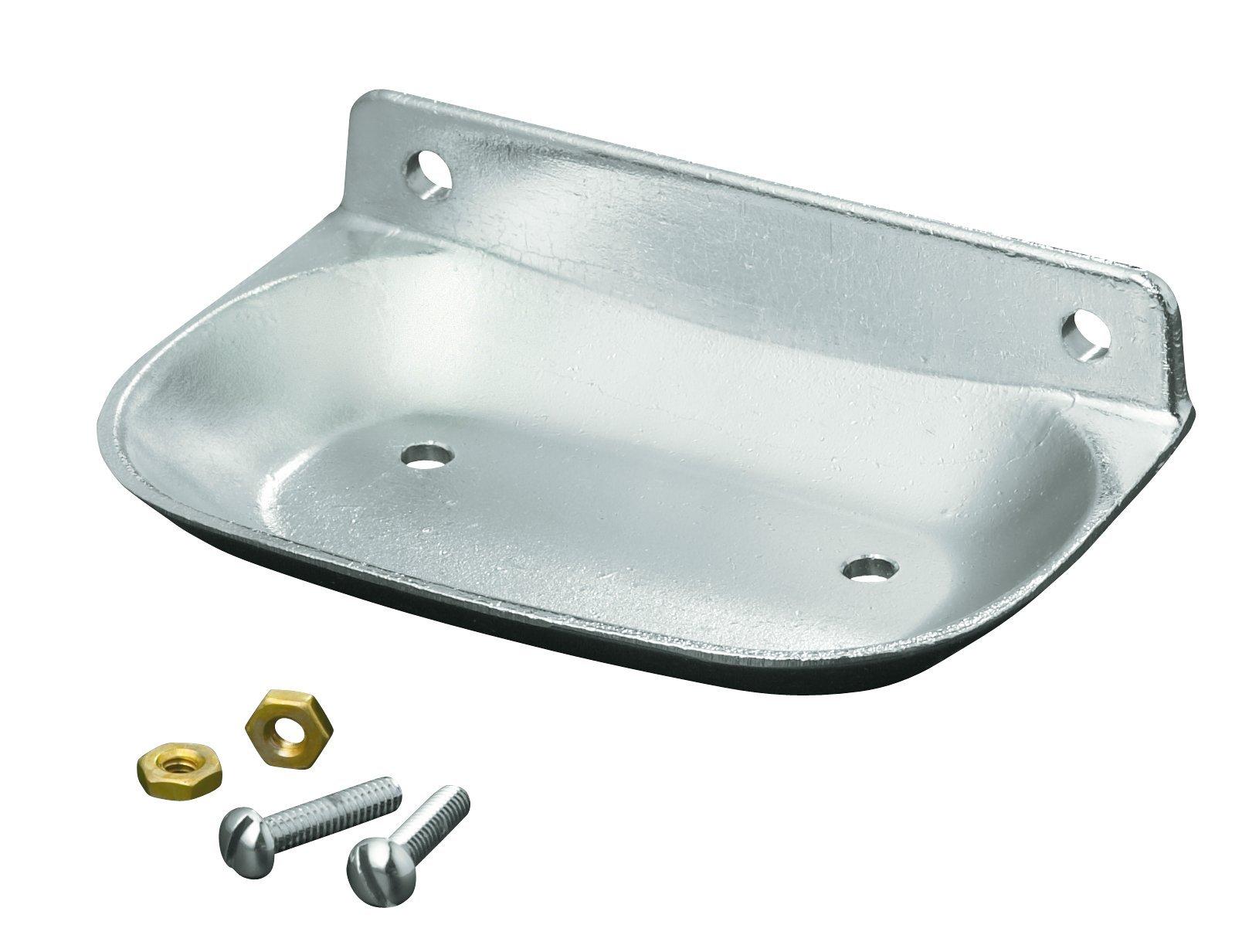 KOHLER K-8880-BC Brockway Soap Dish, Bright Chrome