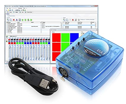 SLESA U9 Sunlite Nicolaudie DMX USB Stand Alone Lighting Interface  Controller