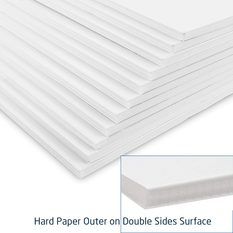 A3, 16 hojas de poliestireno, 5 mm de grosor, papel duro, exterior de espuma, para fotos y carteles de boda STARVAST 297 x 420 mm Tablero de espuma