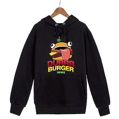 c7b1b366ae677 GFDDR Fortnite Burger for Kids Youth Boys Hoodies Sweatshirts Gift Kids-S(8-