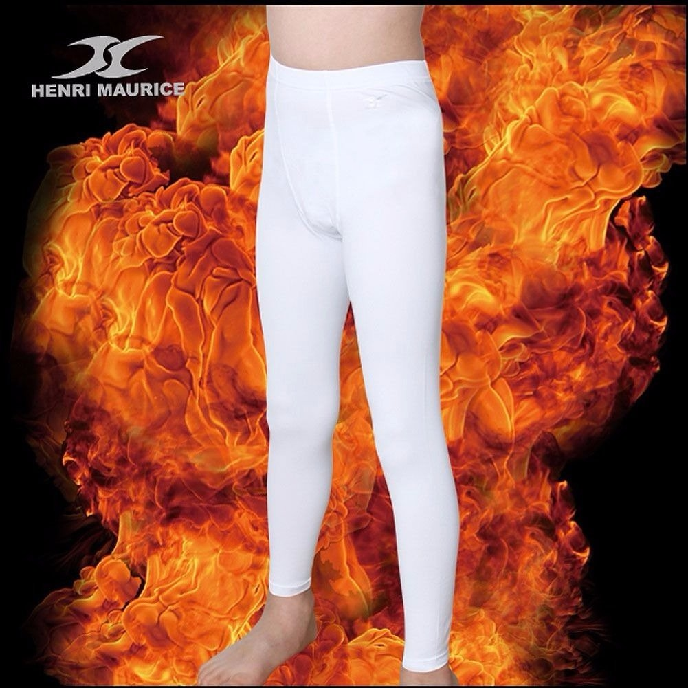 fffce9ce04c64 Thermal Underwear Kids Tights Leggings Base Layer Compression Pants Napping  PSK Henri maurice larger image