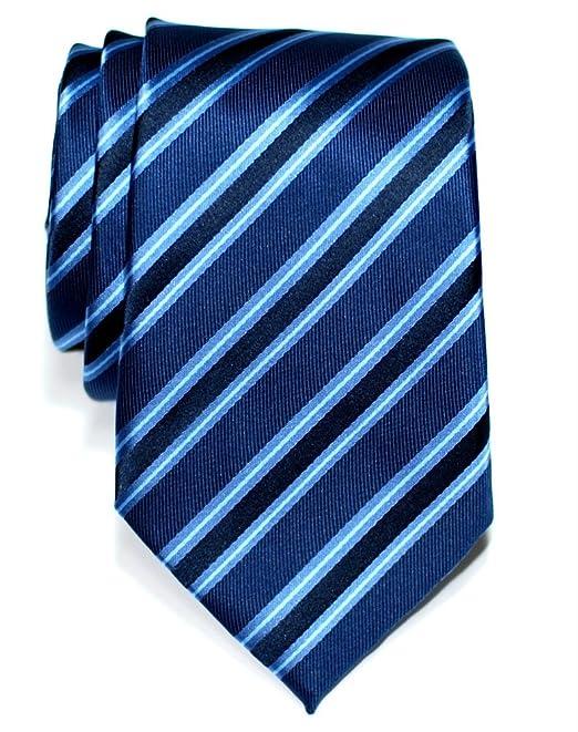 Retreez Modern Stripe Woven Microfiber Pre-tied Boys Tie Various Colors