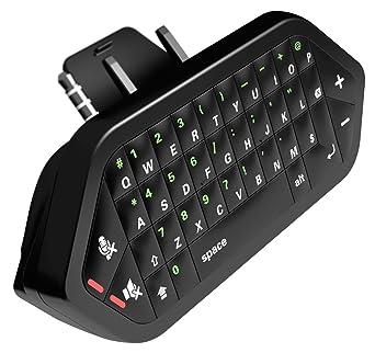 Xbox One Chatpad Receptor inalámbrico 2.4G Teclado y audio Construido en el teclado para chat