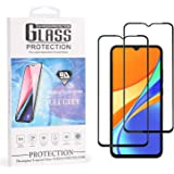 AIMIXIUNA [2 Unidades] Protector de Pantalla para Redmi 9C, Vidrio Cristal Templado Glass Screen Protector Pantalla para…