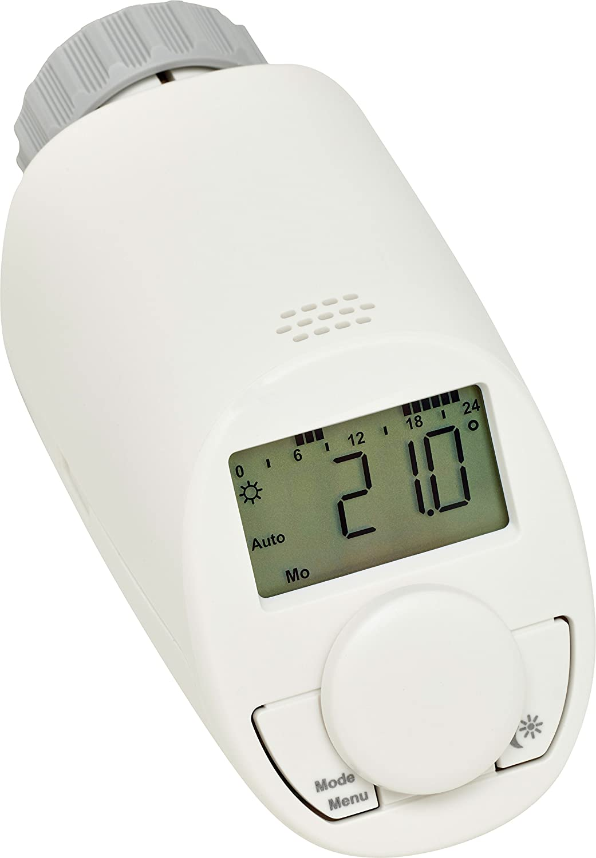 eqiva 132231K2 Termostato electr/ónico para radiador Blanco