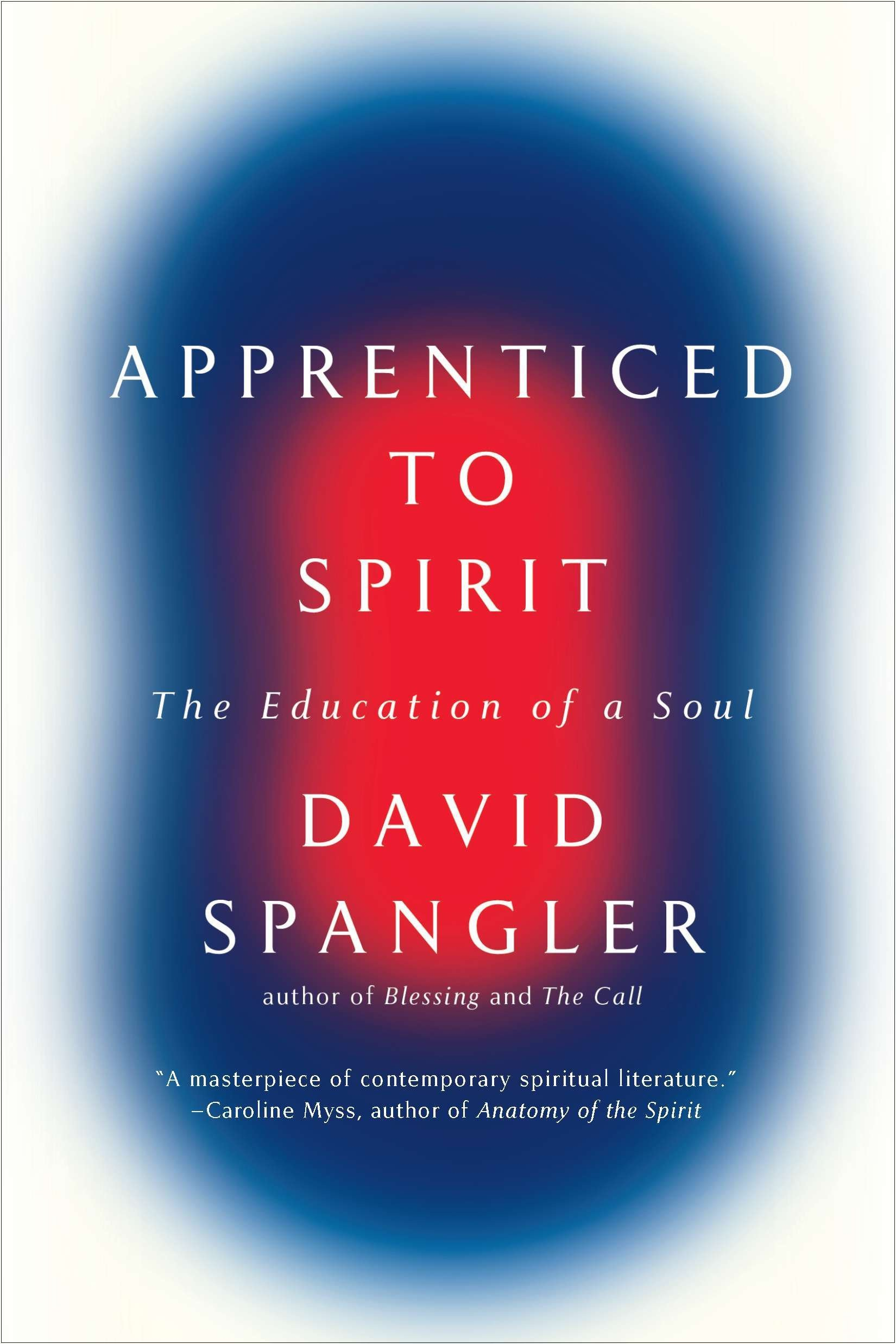 Apprenticed To Spirit The Education Of A Soul Amazon David