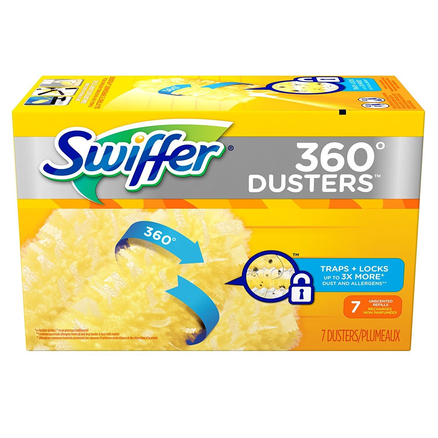 Swiffer 360 Dusters Refills Unscented 7 Ct - 3 Pack by Swiffer (Image #2)