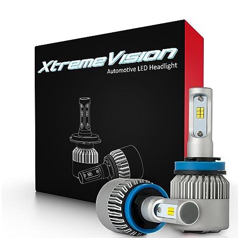 XtremeVision 7G 72W 16,000LM - H11 LED Headlight Conversion Kit - 6500K CSP  LED - 2019 Model